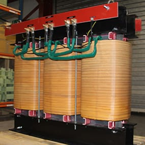 Three Phase 160-750kVA Industrial Power Transformer 1